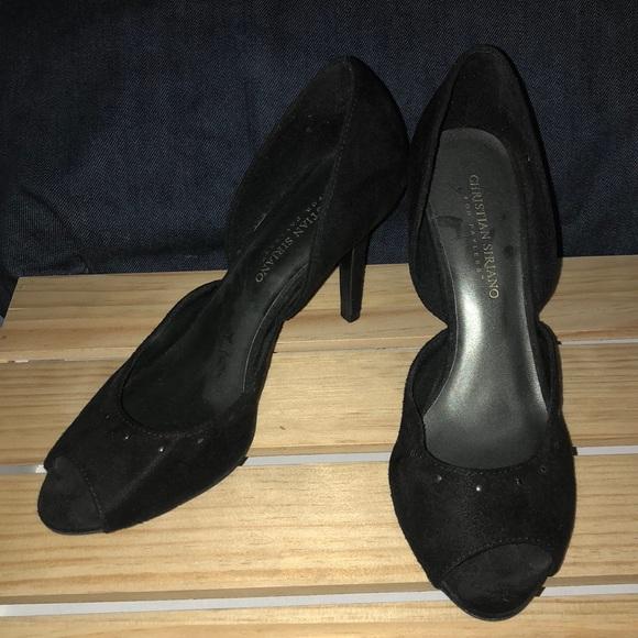 5b8cf052db Christian Siriano for Payless Shoes | Peep Toe Studded Heels | Poshmark